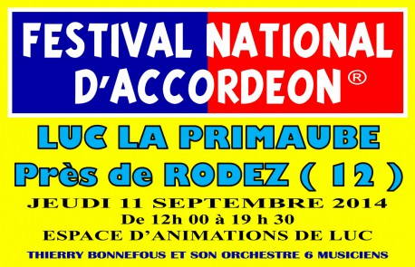 RODEZ FESTIVAL NATIONAL D'ACCORDEON