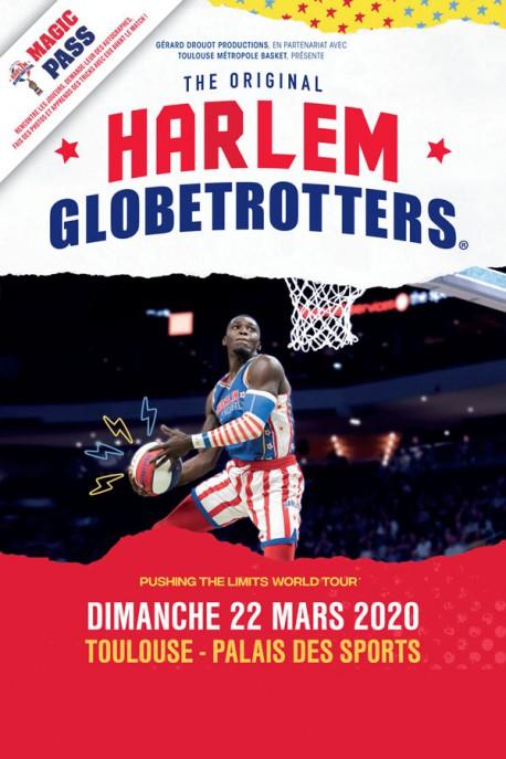 HARLEM GLOBETROTTERS basket spectacle