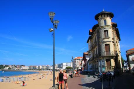 Front de Mer à St Jean de Luz