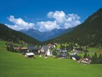Tyrol.LegenView of Gargellen.Austrian National Tourist office