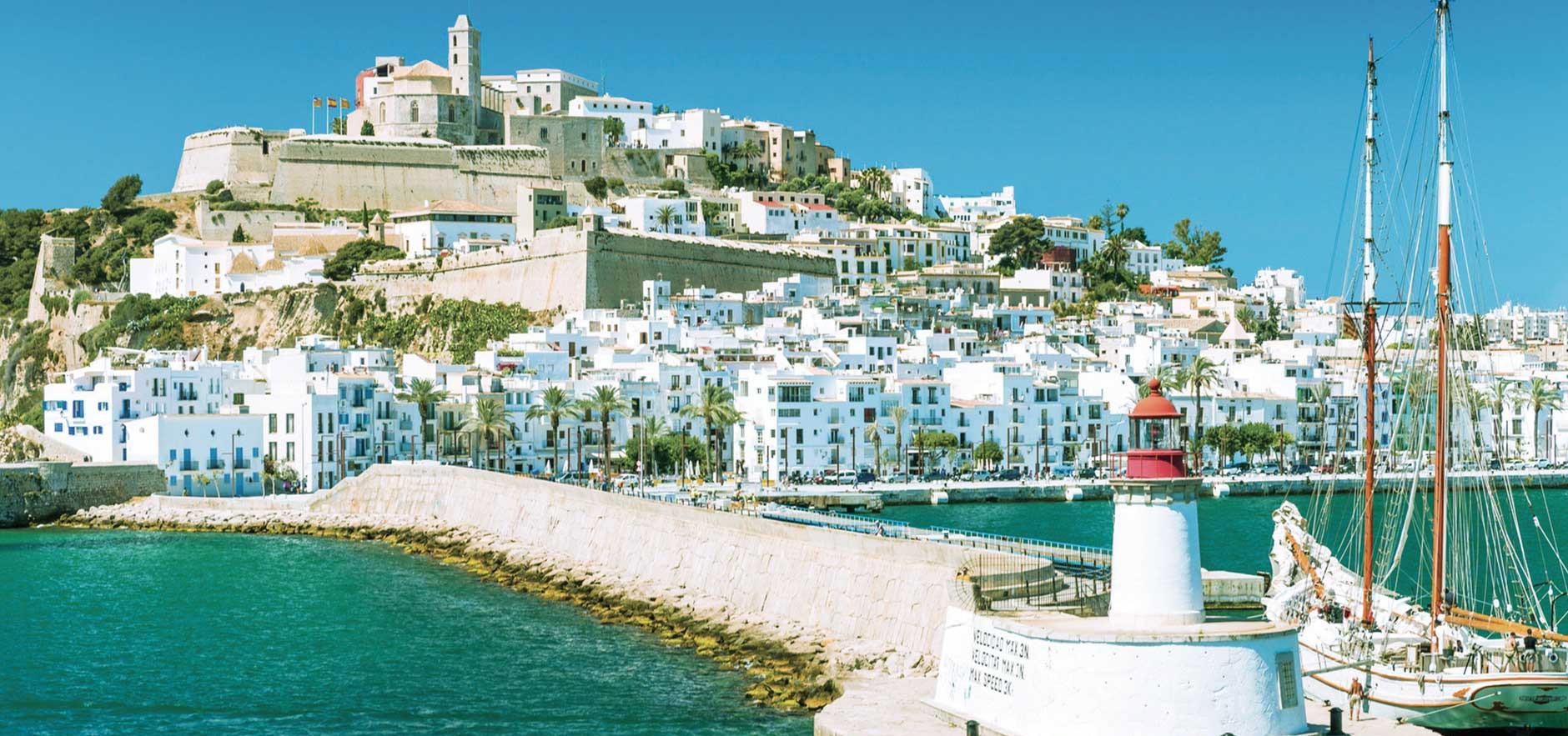 Les îles Baléares - Ibiza