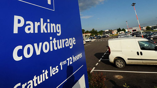 parking de covoiturage