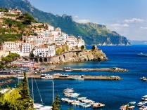 MERVEILLES D'ITALIE : Florence, Tivoli, île de Capri, côte Amaltaine, Rome, Pise