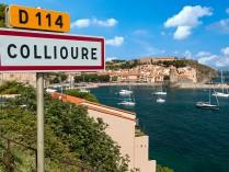 COLLIOURE ET LE PETIT TRAIN TOURISTIQUE