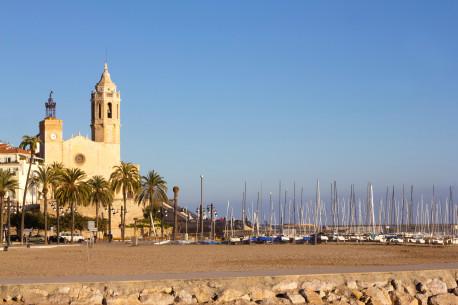 SITGES Calafell Church of Sant Bertomeu and Santa Tecla