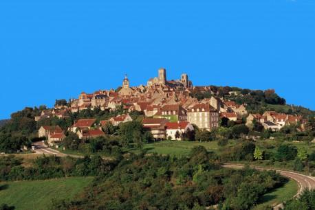 Vezelay village
