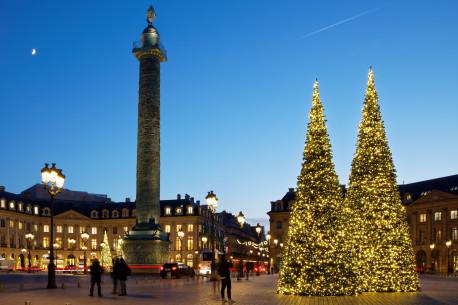 Paris Illuminations Pl Vendome