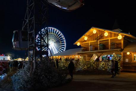 BARCARES village de Noël