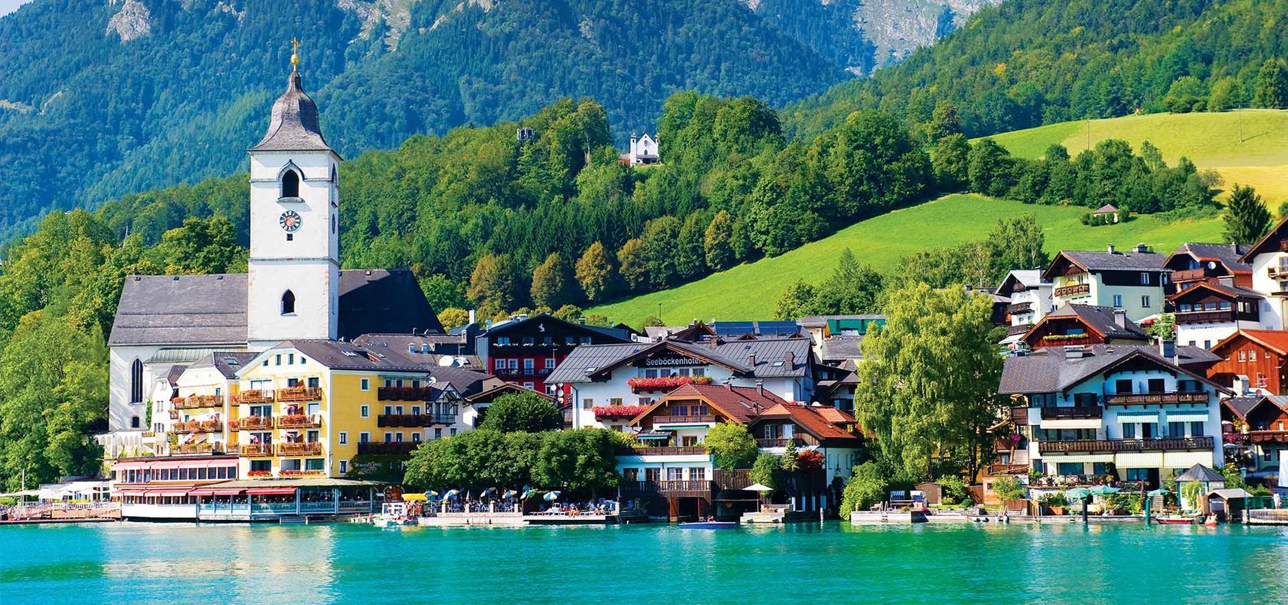 Tour d'Autriche - Lac de St Wolfgang